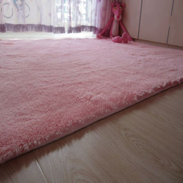 shag pink area rugs for home living room floor carpet bed mat soft