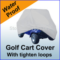 buggy cart golf - Golf Cart Cover Waterproof Passenger Electric Gas Golf Cars Buggy Enclosure Storage water proof heavy GF1S