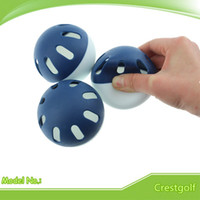Wholesale Hot Selling in Japan EVA Material pcsX mm double color Super soft Wiffle Balls