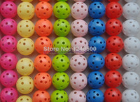 airs perforated - Brand New Colors Air Flow Golf Ball Practice Plastic Perforated