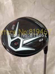 Wholesale-2016 golf clubs 915D2 915 D2 driver 10.5 loft regular flex 1pcs golf driver include golf headcover