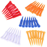 Wholesale Hot Sale Golf Tees Plastic Castle Tee Height Control Step Down mm