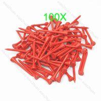bamboo golf tee - Hot mm Red Golf Ball Wood Tee WoodenTees New