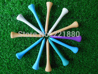 Wholesale New Arrival High quality bag MM Multi Color Wooden Golf Tee Tees