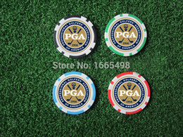 Wholesale freeshipping EA new design golf poker chip ball marker