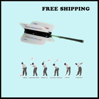 Wholesale Power Swing Fan Golf Club Swing Trainer Power Resistance Practice Training Aid