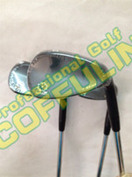 Wholesale 2015 SM5 Golf Wedges With Steel Shafts Golf Clubs degree Silver Black Champagne EMS DHL ship
