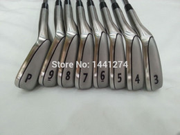 Wholesale 8PCS Golf Clubs MB716 Iron Set T MB716 Irons Golf Forged Irons Pw Regular Stiff Flex Steel Shaft Come With Head Cover
