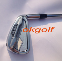 Wholesale New golf irons SLDR irons Pw Sw Aw with dynamic gold S steel shaft high quality golf clubs