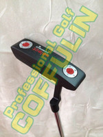 Wholesale Left Handed Black Newport2 Golf Putter With Steel Shaft Headcover Golf Club PC NEW