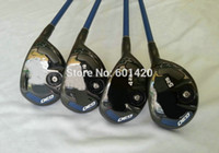 Wholesale 1PC Golf Clubs G30 Golf Hybrid Regular or Stiff Graphite Shaft With Headcover Iron amp Wooden Cue