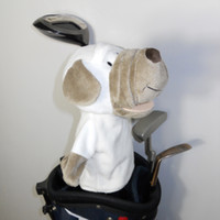 animal golf club covers - 2015 New Cute Dog Animal Club Wood Head Cover Golf Clubs Headcover fit for and Wood Covers