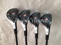 Wholesale R15 Hybrid R15 Golf Hybrid OEM Golf Clubs quot quot quot quot Degree Graphite Shaft Regular Stiff Flex With