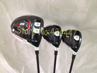 Wholesale golf clubs New R15 driver R15 fairway wood speeder graphite shaft right hand set include head cover