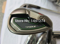 Wholesale 9PCS Golf Clubs Iron Set RocketBallz Irons Golf Clubs RocketBallz PASw Regular Stiff Flex Graphite Shaft Come With Head Cover
