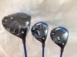 G 30 Wood Set G 30 Golf Woods OEM Golf Clubs Driver + Fairways Regular Stiff Flex Graphite Shaft Come With Head Cover & Wrench