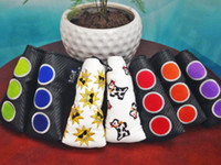 Wholesale S cot Brand golf putter head covers club golf headcover custom putter cover