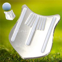 Wholesale Hot Sale Magnetic Golf Cap Clip Golf Ball Aiming Marker Alloy Professional High Quality