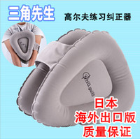 Wholesale Golf posture corrective braces Mr triangle golf swing trainer beginner exercises Supplies Gray golf trainer