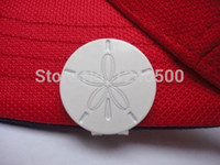 Wholesale Sand Dollar Golf Ball Marker W Bonus Magnetic Hat Clip