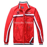 aston martin jacket - 2015 Top Sports Jackets for Men Aston Martin Racing Jackets Men Thin Active Coats GB Colors
