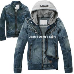 Discount Plus Size Hooded Jean Jacket | 2017 Plus Size Hooded Jean