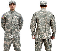 acu coat - ACU camouflage suit Combat ACU Uniform military uniform bdu hunting suit Wargame COAT PANTS