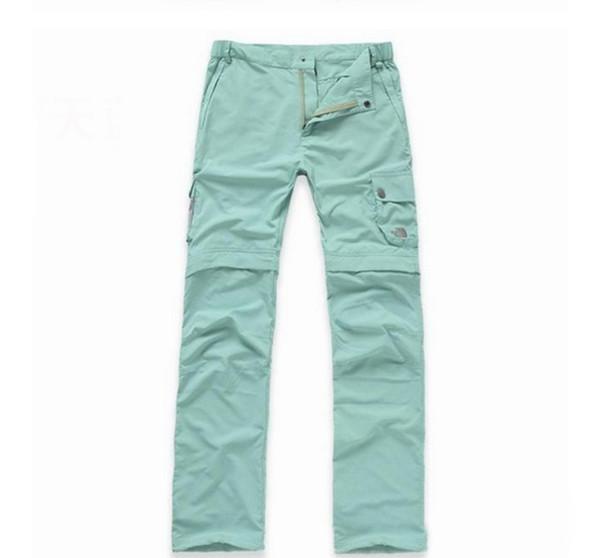 jun26 современные женские водонепроницаемые открытый восхождение съемные брюки дышащий пешие прогулки брюки