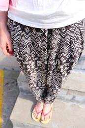Wholesale New Gloria Jeans Spring And Summer Women s Geometric Pattern Harem Pants Casual Pants Pantaloni Pantalon Haven