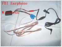 Wholesale Mini Earphone for FBI Wireless Hidden Cell Phone Spy Earpiece with Battery