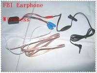 Wholesale Mini Earphone for FBI Wireless Hidden Cell Phone Spy Earpiece with Battery
