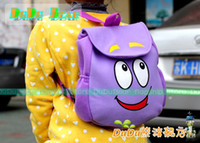 Wholesale dora kids bag New Dora Backpack Plush with Map Girls Preschool The Explorer Rescue Bag mochilas school kid bag backpack