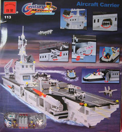 Enlightenment 113 aircraft carrier 990pcs building toys