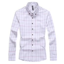 Discount Mens Checkered Shirts | 2017 Mens Casual Checkered Shirts ...