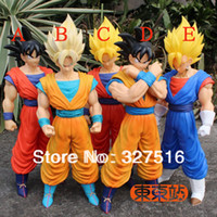 Wholesale Classic Toys Anime Dragon Ball Z PVC Action Figure Toys Super Saiyan Son Goku Super Huge Model Doll Toy Figure