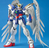 gundam - Wing am Zero Version EW Master Grade Customize Mobile Suit Model Kit Fighting Action Kit Toys For Boys