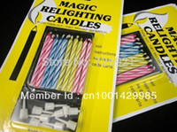 best aromatherapy candles - 8packs Magic Relighting Candles Tricky and Novelty Toys Best Birthday Gift For Funny Party pack