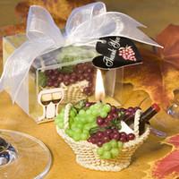 gift basket supplies - Wedding supplies wedding candle romantic smokeless candle fruit basket small candle gift