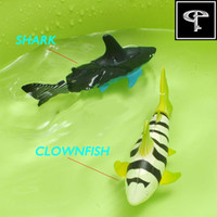 best fish for kids - GP Toys Electronic Swimming Fish Water Activated Robo Fish Pet Fish Magical Turbot Fish For Children Kids Best Xmas Gifts