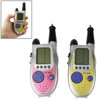 Wholesale One Pair of m Way Radio Walkie Talkie Game Handheld Game Console with Kind Games