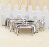 purse clasp - FY Silver Square Coins Purse Frames Metal Kiss Clasp Bags Making Supplies DIY CM Complete specifications