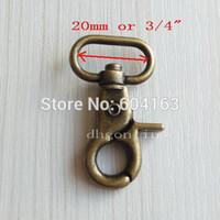 bag webbing - SWIVEL CLIPS SNAP Hook METAL TRIGGER Heavy Duty Webbing bag TS03 Bronze