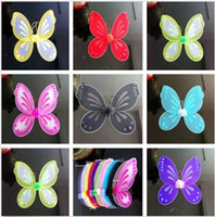 adult fairy tutu - 2015 NEW HOT quot x19 quot ADULTS CHILDRENS GLITTER BUTTERFLY PIXIE FAIRY WINGS FANCY DRESS COSTUME