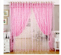 Wholesale Hot Curtains for windows screening bedroom Chinese curtain for living room curtain cortinas blinds tulle organza