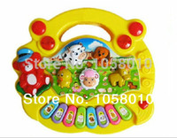 baby toys studies - Animal Farm Piano Music Educational Toys Baby Educational Toy Enlightenment Kids Toys Study Machine Electronic Classic Toys