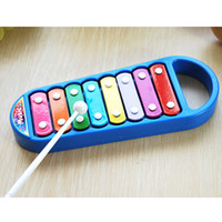baby development games - New Child Kid Baby Note Xylophone Musical Instrument Development Game Toy Gift Blue