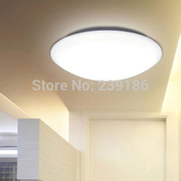 beautiful lamp shades - Round LED Ceiling Lights W W W W W super bright SMD Chips PMMA Lamp shade beautiful shape white