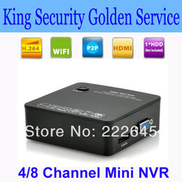 Wholesale Mini NVR quot Boxy quot p E SATA Port ONVIF Cloud P2P Dual USB Port CH CH Channel