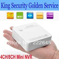 Wholesale 4CH CH Mini NVR IP Camera Recorder Surveillance CH CH P P P HD Recorder Cloud P2P ONVIF HDMI E SATA USB