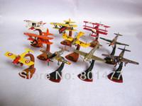 Wholesale Set of WW1 WW2 Fighter Aircraft Plane Model Sora Mononofu Gaiden AFA1